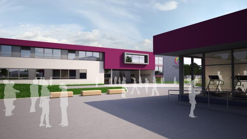 Beamont Collegiate Academy New Build