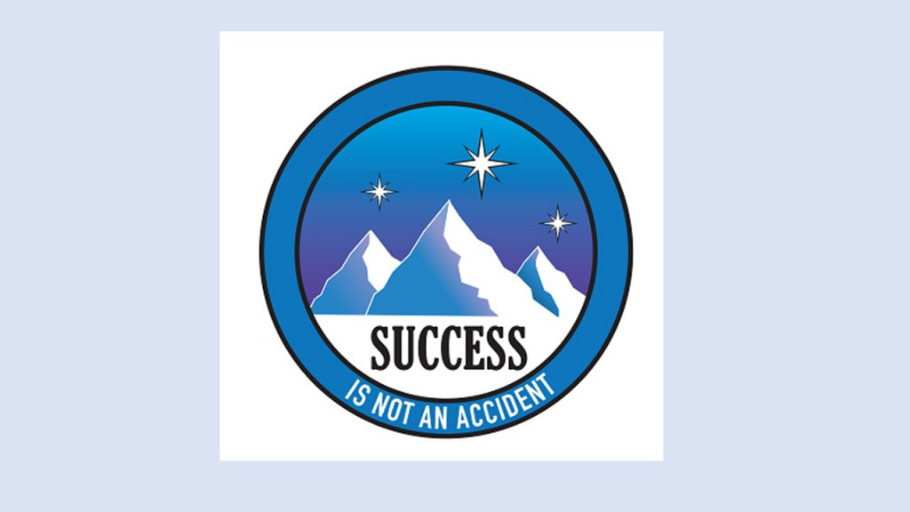 Success is not an accident logo
