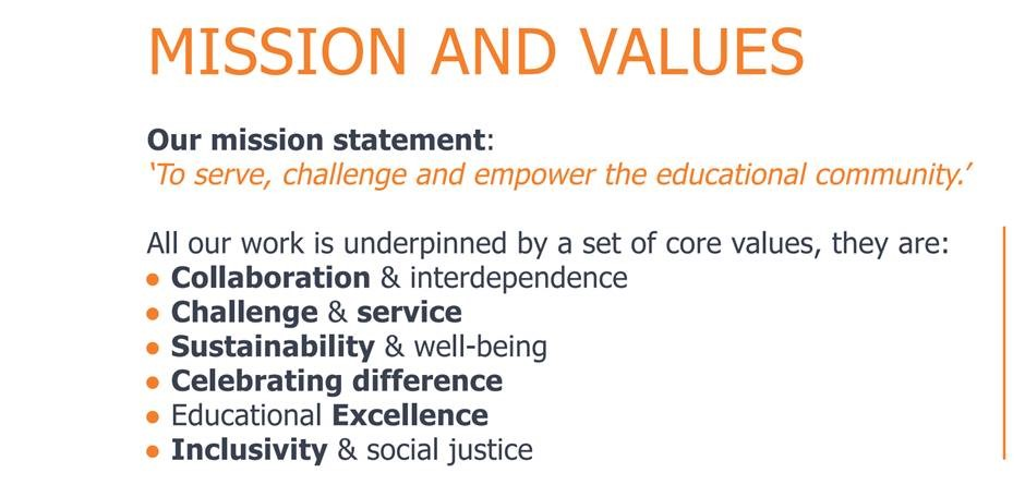TCAT Mission and Values